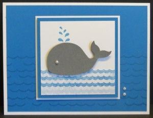 Stamp Set:  Oh, Whale