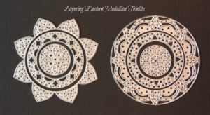 Layering Eastern Medallion Thinlits