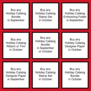 Holiday Bingo Collage